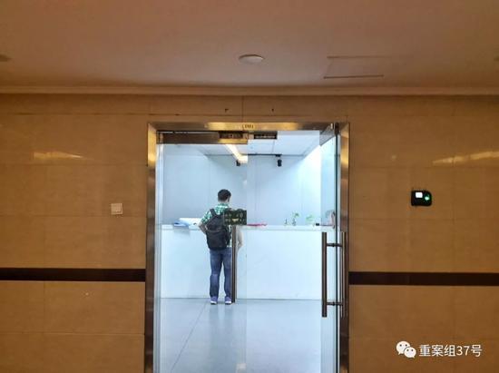▲8月21日,记者探访瑞智华胜工商登记的办公地址。 新京报记者 王飞 摄