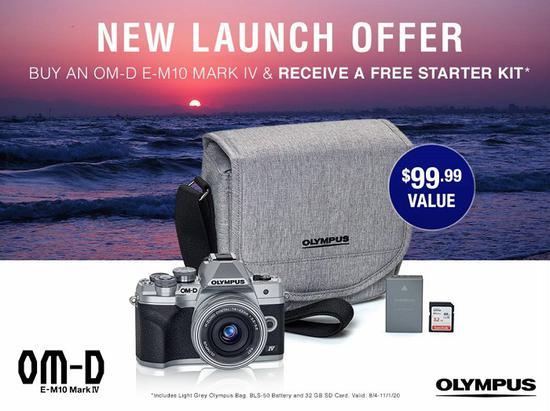 奥林巴斯发布OM-D E-M10 Mark IV相机 主打轻便可靠