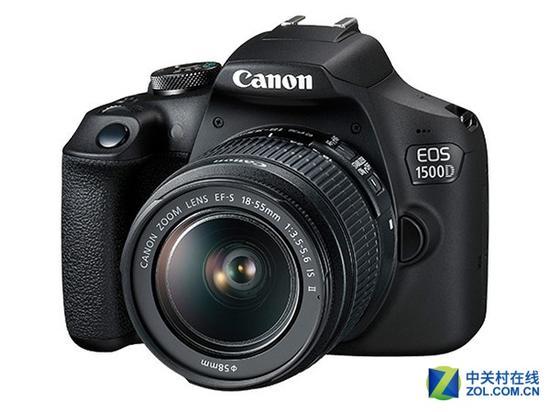 佳能EOS 1500D单反相机(配18-55mm镜头)