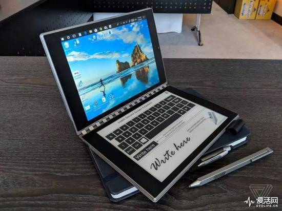 墨水屏与LCD成功合体 英特尔真的开始推双屏笔记本了