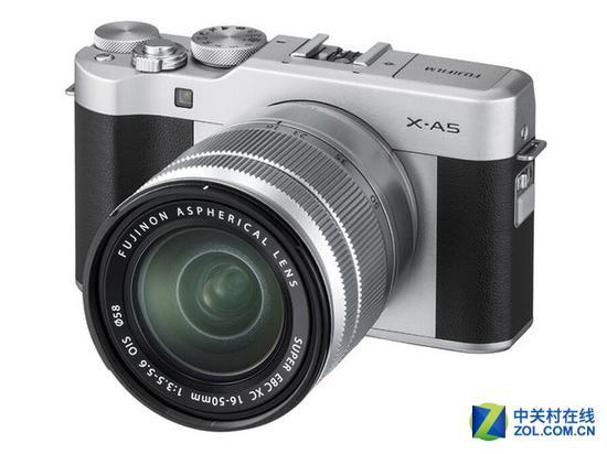 富士X-A5微单相机(配16-50mm镜头)