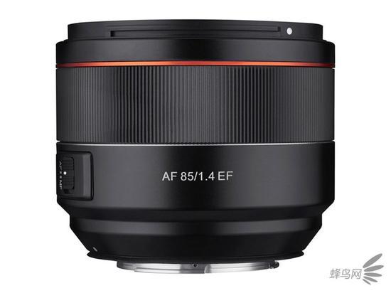 轻量紧凑精准 三阳AF85mm f/1.4 EF镜头发布