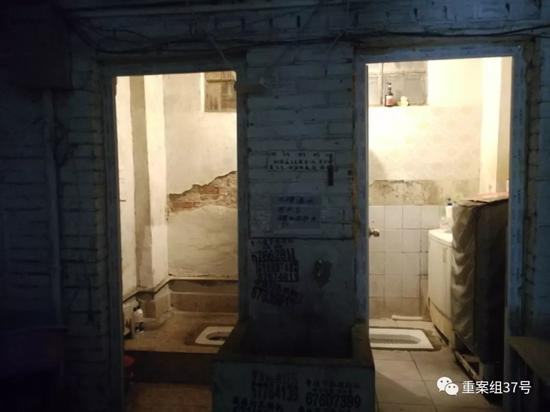 ▲前往实地看房时所见的房间,地点与网站标明的不符。新京报记者王飞摄