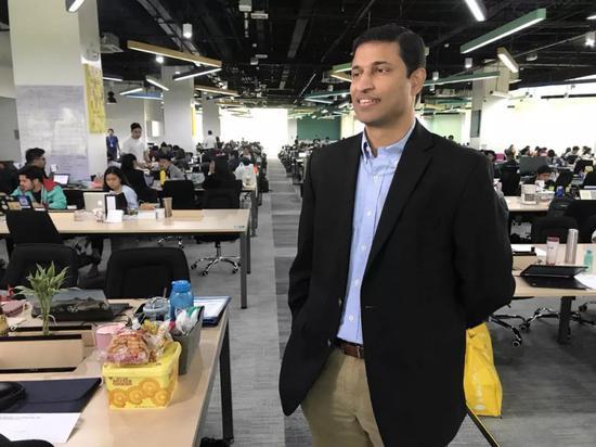 GCash的CEO Anthony Thomas