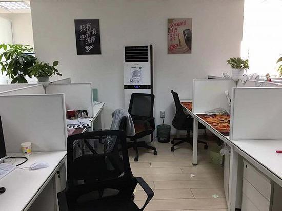 无人的办公席位