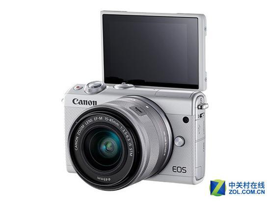 佳能EOSM100微单相机(配15-45mm镜头)