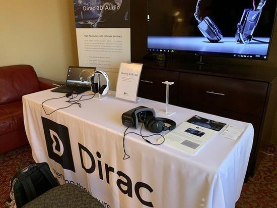Dirac Research展台