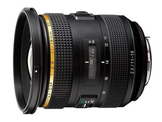 宾得HD PENTAX-DA* 11-18mm F2.8 ED DC AW镜头
