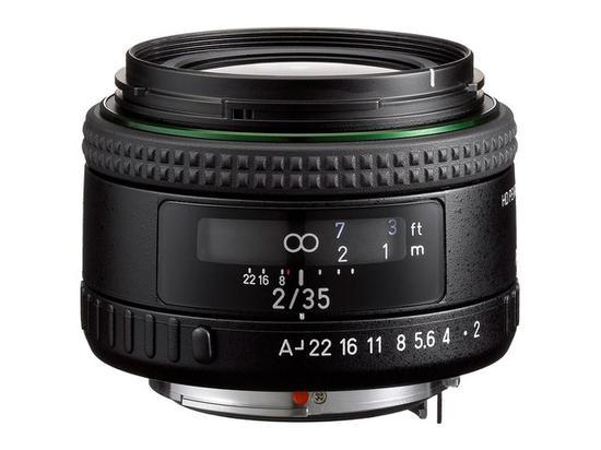 宾得HD PENTAX-FA 35mm F2镜头
