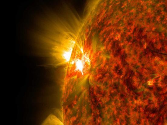 太阳会散发辐射(图源:网络)