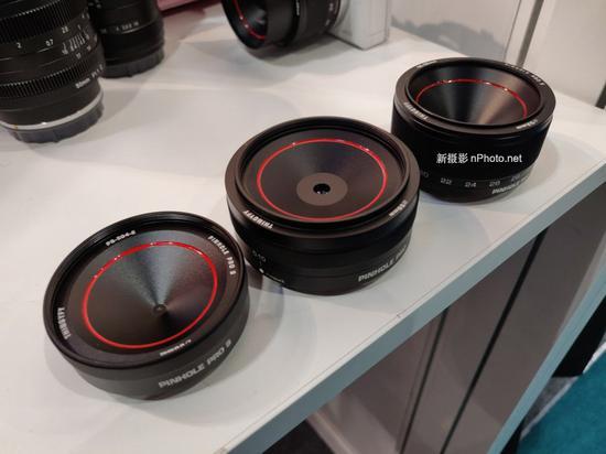 Thingyfy展出世界首款针孔变焦镜头Pinhole Pro X,焦距18-36mm