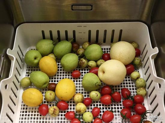 方太水槽洗碗机JBSD2T-Q8一次可喜好大量水果