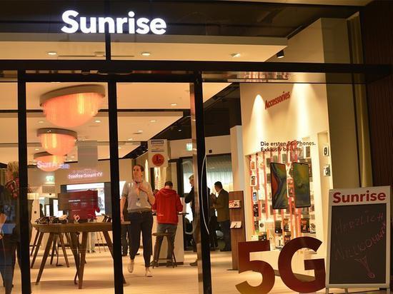 Sunrise攜手華為推出瑞士首批5G智能終端