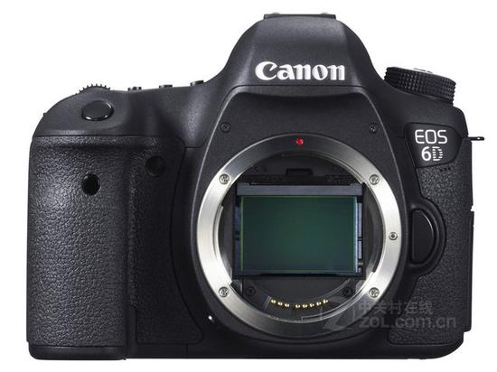 佳能EOS 6D全画幅单反相机