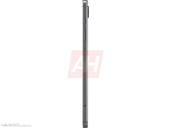三星Galaxy Tab S6平板渲染图曝光:S Pen能无线充电