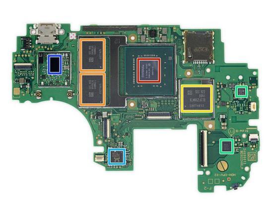 亚洲色囹/?y/?y?$9.???dyb(:fi_dan915;青色方框内为realtek alc5639音频编解码器;蓝色方框内为cypre