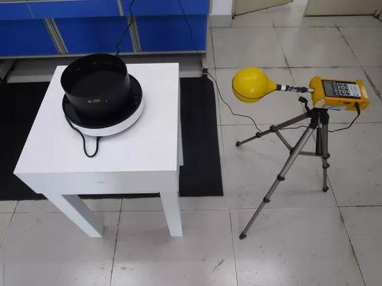 电磁炉辐射测试场景