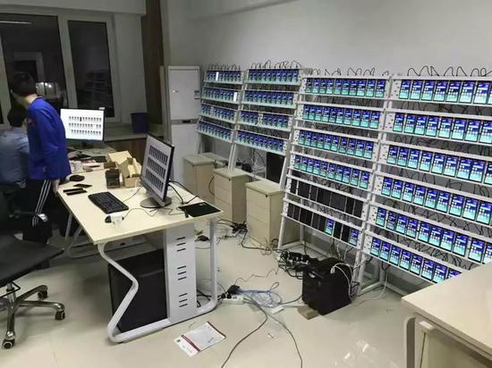 群控技术·图源:@华企黄页网