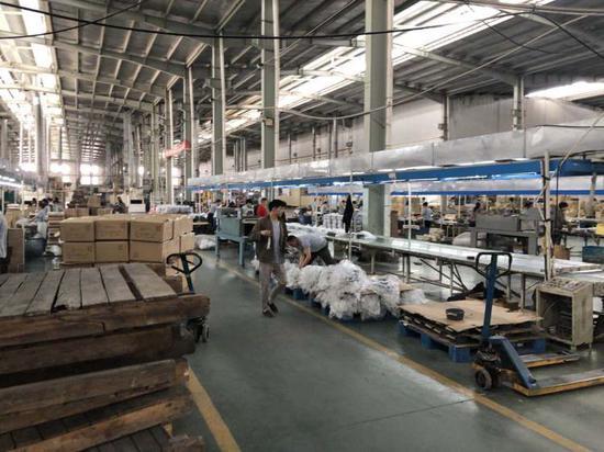 卡罗特的自有工厂于2月10日复工。 受访者供图
