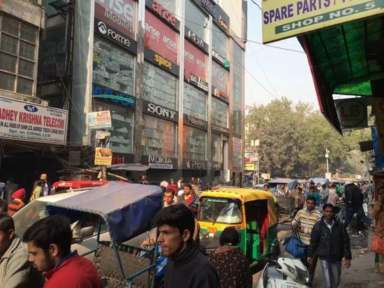 印度手机数码街