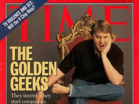 图:《时代》杂志封面的马克·安德森