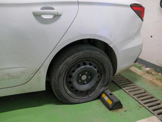 汽车胎压不足,图源:IT时报