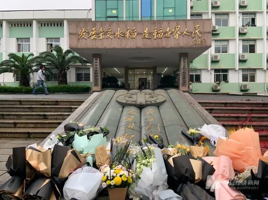 5月22日下午,袁隆平生前工作的杂交水稻研究中心    图片来源:每经记者 王帆 摄