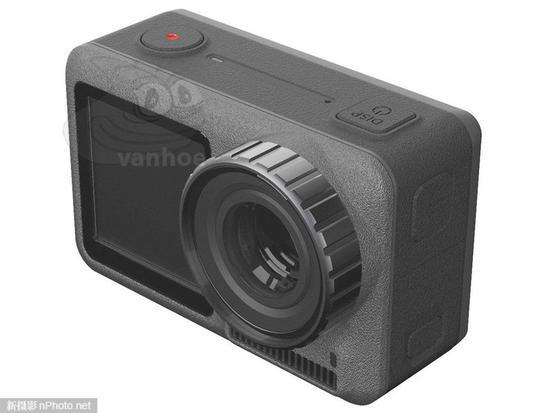 大疆Osmo Action运动相机外观及规格曝光