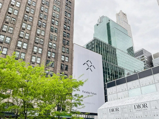 法拉第未來FF91紐約體驗中心店,圖源FaradayFuture官微