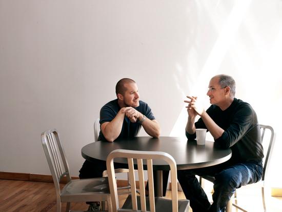 乔布斯和苹果前首席设计官乔纳森|网络