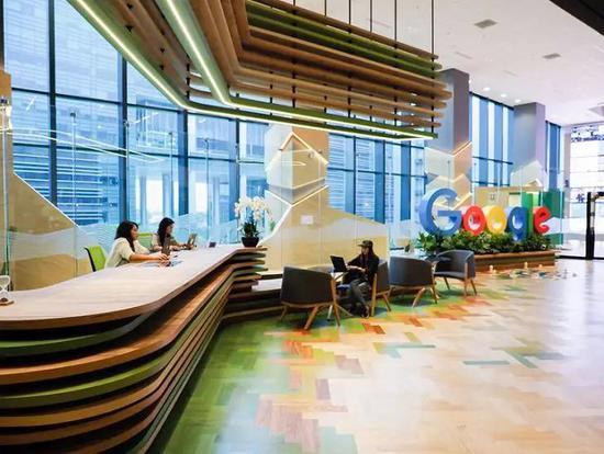 谷歌某处办公空间