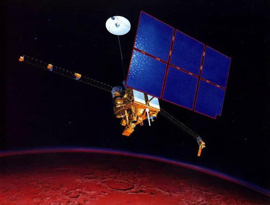 """失落太空的美国""""火星观察者""""探测器"""