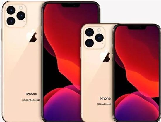 """2020年iPhone渲染图曝光 新iPhone将会采用""""浴霸""""设计"""