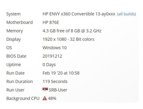 惠普新款ENVY X360笔记本曝光:搭载R5 4500U 6核6线程