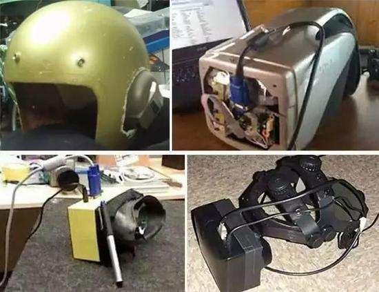 △Palmer 做的前四个原型机