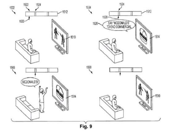 说对品牌名就能跳过电视广告,索尼新专利富有趣味性