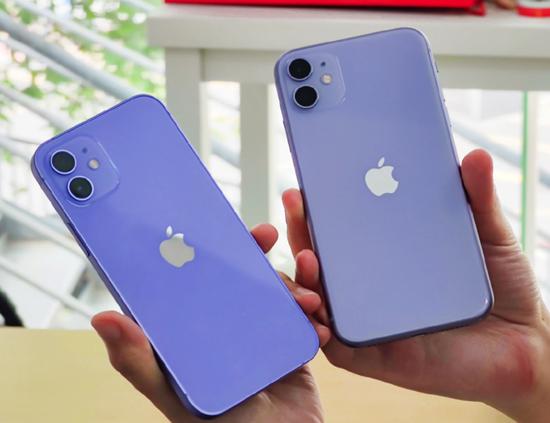 ▲ iPhone 12 对比 iPhone 11。