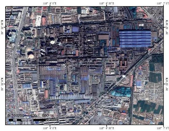 (G)唐山市的钢铁厂