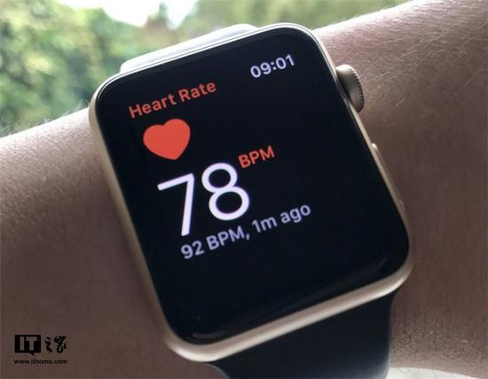 国外用户用苹果手表的心电图功能发现房颤,医生确诊