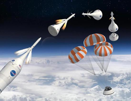 NASA猎户座飞船仍然采用逃逸塔