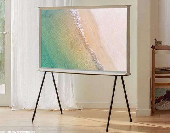 三星上新The Serif画境系列电视新品,搭载了4K超高清QLED面板