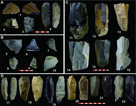 尼阿底石器组相符