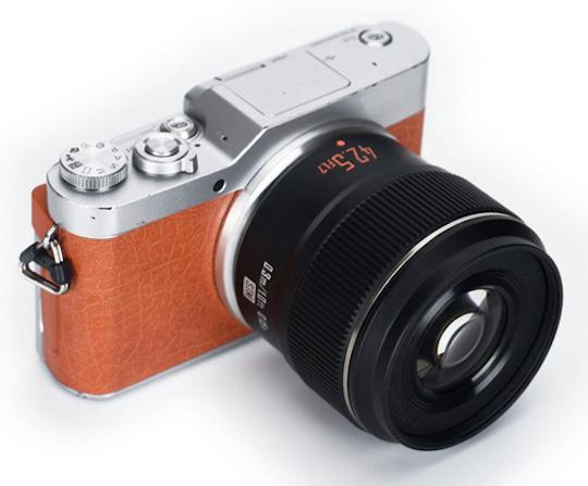 永诺将发布M4/3画幅新镜头