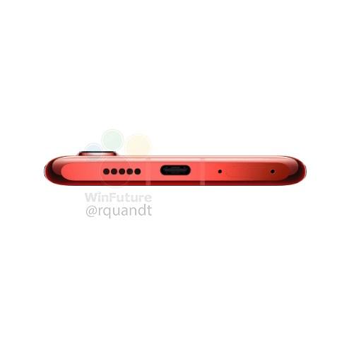 华为P30 Pro红色版(图源WinFuture)