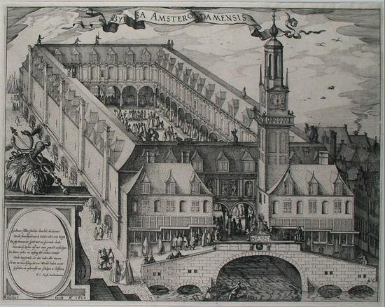 1612年(明万历四十年)阿姆斯特丹证券交易所