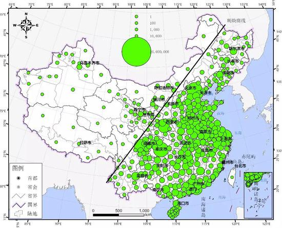 ▲图13春节后人口迁出预测结果