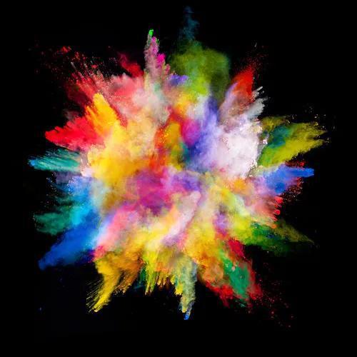 彩色粉尘爆炸