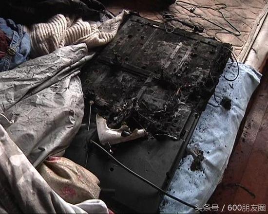 能爆炸的不止三星手机:三星电视自燃致用户损失十多万的照片 - 2
