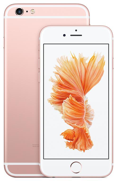 iPhone6s手機系列(引自蘋果)