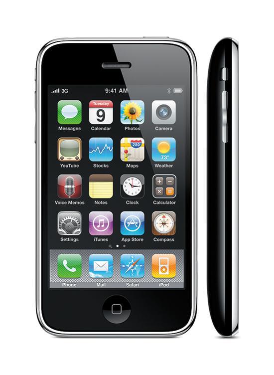 iPhone3GS(引自蘋果)